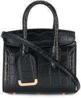 Alexander McQueen mini Heroine embossed shopper - women - Leather - One Size