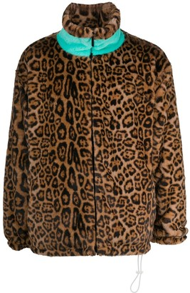 goodboy Faux Fur Leopard Print Jacket