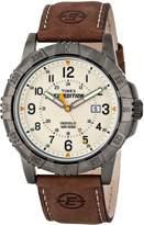 Timex Men's T499909J Expedition Rugged Metal Field Analog Display Analog Quartz Brown Watch