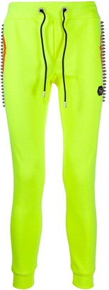 Philipp Plein Slim-Fit Studded Track Trousers