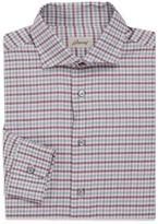 Brioni Contrasting Striped Cotton Sportshirt