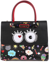Nicole Lee Women's Fun Story Print Tote Handbag