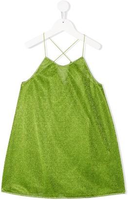 Oseree Kids Metallic Slip Dress