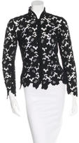 Chanel Fitted Lace Jacket