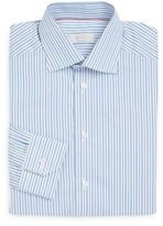 Eton Contemporary-Fit Bengal Striped Cotton Dress Shirt