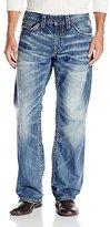 Silver Jeans Men's Zac Light Wash Straight Leg Jean