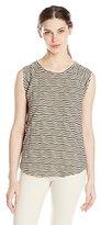 Lucky Brand Women's Striped Swit Tank Top