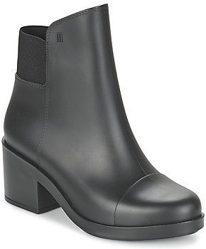 Melissa ELASTIC BOOT women's Low Ankle Boots in Black