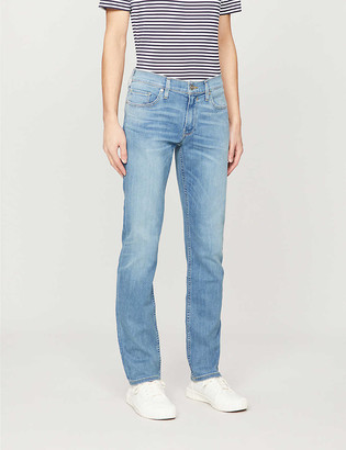 Paige Federal slim-fit stretch-denim jeans