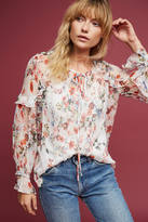 Hd In Paris Leda Floral Blouse
