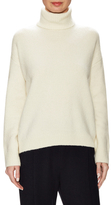 Vince Wool Ribbed Turtleneck Sweater