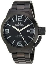 TW Steel Men's CB212 Analog Display Quartz Black Watch