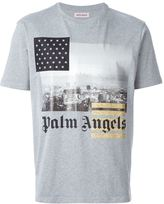 Palm Angels front print T-shirt - men - Cotton - L