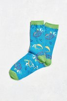 Urban Outfitters Tropical Fruit Sock