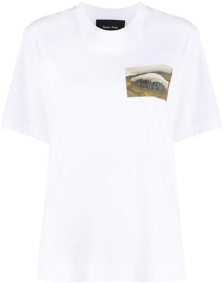 Simone Rocha printed detail T-shirt