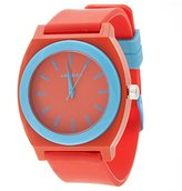 Airwalk Quartz Plastic and Silicone Casual Watch, Color:Red (Model: AWW-5096-RE)
