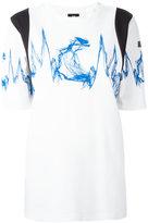 MCM printed T-shirt - women - Cotton/Polyamide/Spandex/Elastane/Modal - S
