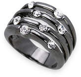Guess Multi Stone Crystal Ring