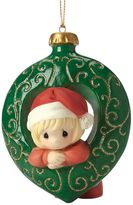 Precious Moments You Fill My Heart Girl Christmas Ornament