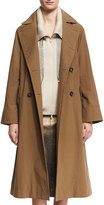 Brunello Cucinelli Cotton Canvas Double-Breasted Trenchcoat