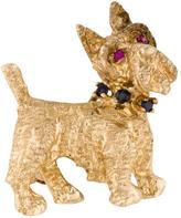 Scottish Terrier Brooch