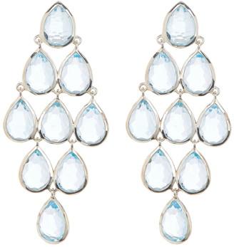 Ippolita Sterling Silver Rock Candy Cascade Chandelier Earrings