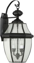 Quoizel Newbury Wall Lantern in Mystic Black