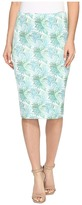Nally & Millie Reversible Printed Pencil Skirt