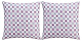 Thomas Paul Seedling By Botanical Checkered Pillow Sham Euro - Multicolor