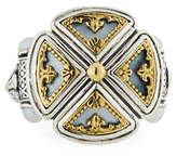 Konstantino Hestia Cutout Mother-of-Pearl Ring