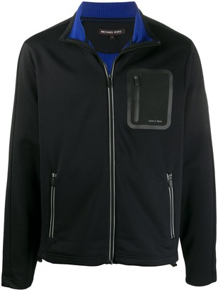 Michael Kors x Tech funnel neck jacket