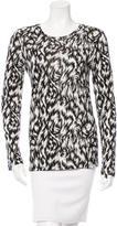 Derek Lam Printed Long Sleeve Top