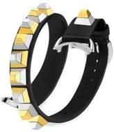 Fendi Selleria Leather Watch Strap/17 MM