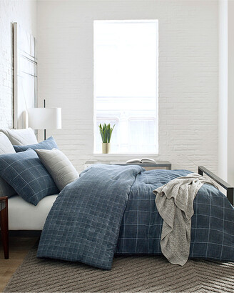 Kenneth Cole New York Holden Grid Duvet Cover Set