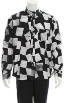 Paul Smith Printed Button-Down Shirt w/ Tags