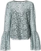 Zac Posen Jojo lace blouse - women - Polyester/polyester - 4