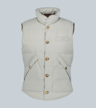 Brunello Cucinelli Quited technical gilet