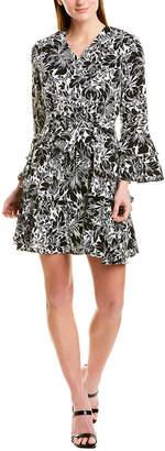 Beulah Bell-Sleeve Shift Dress