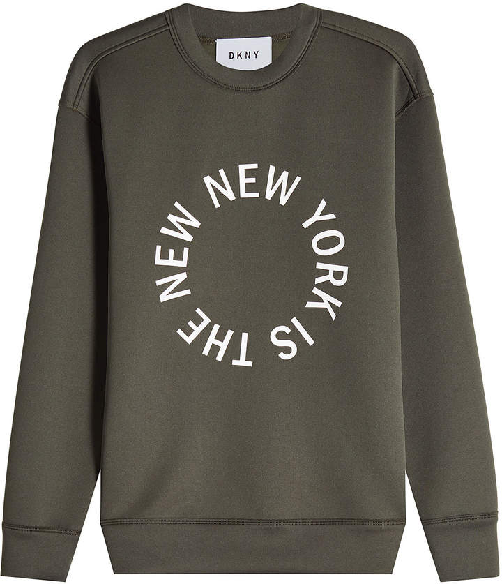 DKNY Printed Sweatshirt