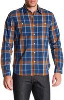 Lucky Brand Plaid Regular Fit Workwear Shirt