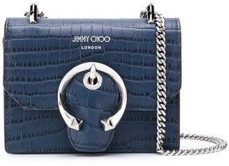 Jimmy Choo mini Paris leather crossbody bag
