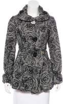 Betsey Johnson Wool-Blend Short Coat