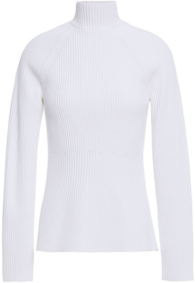 Carolina Herrera Ribbed-knit Turtleneck Sweater