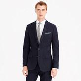 J.Crew Ludlow suit jacket in pinstripe Italian wool