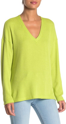 Lush V-Neck Pullover Sweater