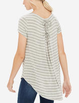 The Limited Nautical Lace Back Tee