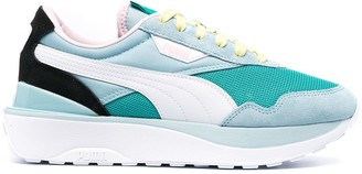 Puma Cruise Rider contrast panel sneakers