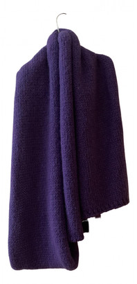 Paloma Wool Purple Wool Scarves