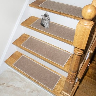 Tucker Murphy Pet Beaird Affordable Light Beige Stair Tread Murphy Pet