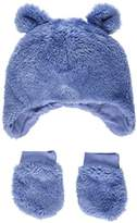 Mothercare Baby Boys' Fluffy Mittens